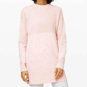 Lululemon Restful Intention Sweater Pink Bliss